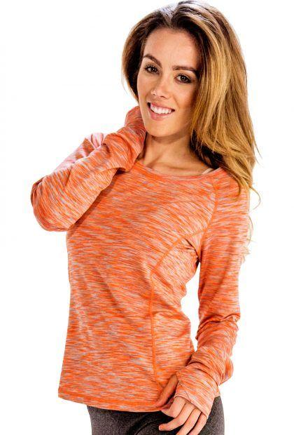 12da74802414f 25% discount on Peach Light Orange Women Full Sleeve Tee. Promo Code: A25OFF