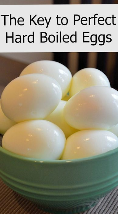 Perfect Hard Boiled Eggs - Easy Steps for How to Hard Boil Eggs