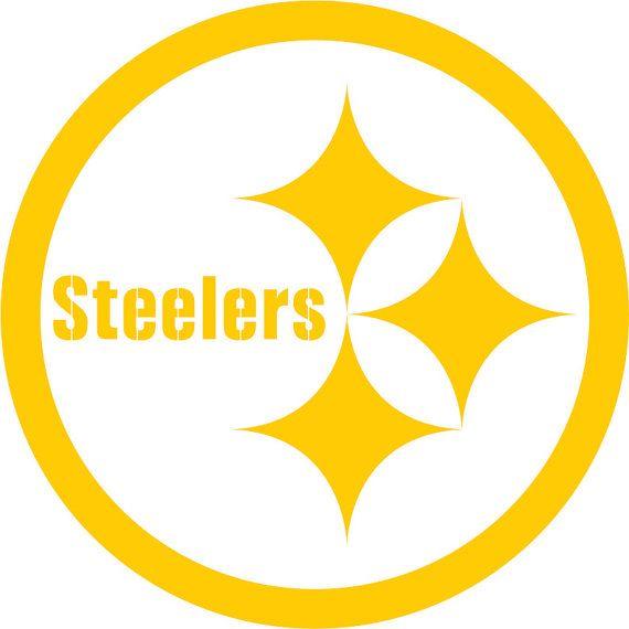 Pittsburg Steelers Vinyl Decal Car Window Sticker Custom Made - Custom vinyl decals pittsburgh