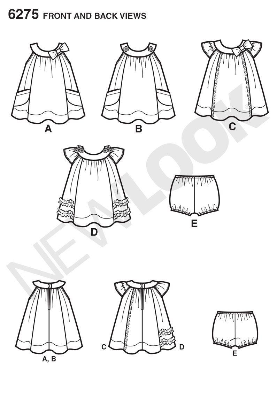 Simplicity Creative Group - Babies' Dress and Panties