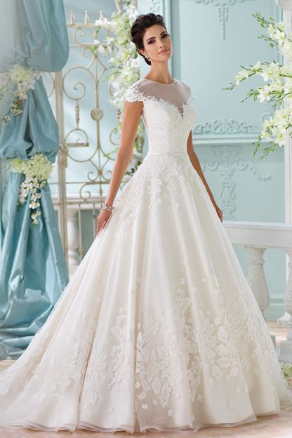 wedding dress inspiration - david tutera for mon cheri | noivas