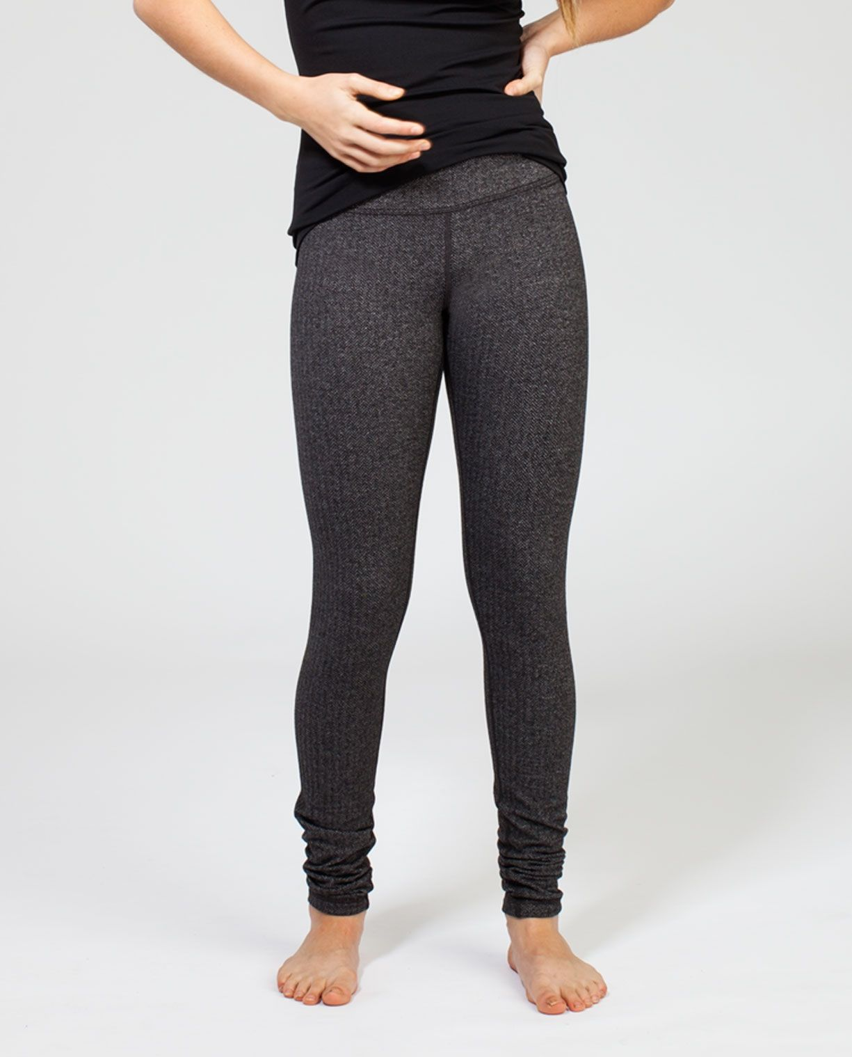 fe0c967c5c rhythmic tight*rulu | ivivva, heathered herringbone heathered black black