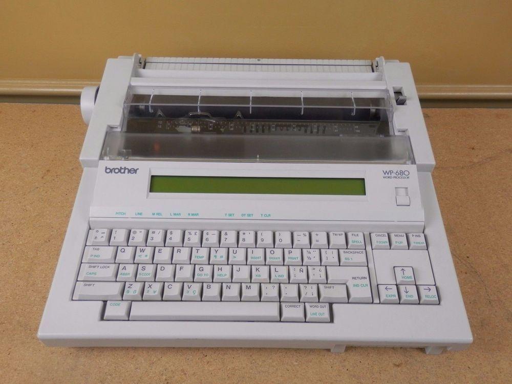 Brother Electric Typewriter Repair