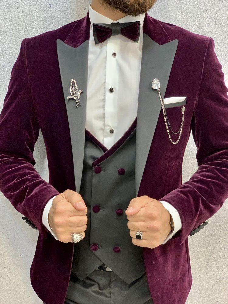 Pin On Burgundy Suit Maroon Suit