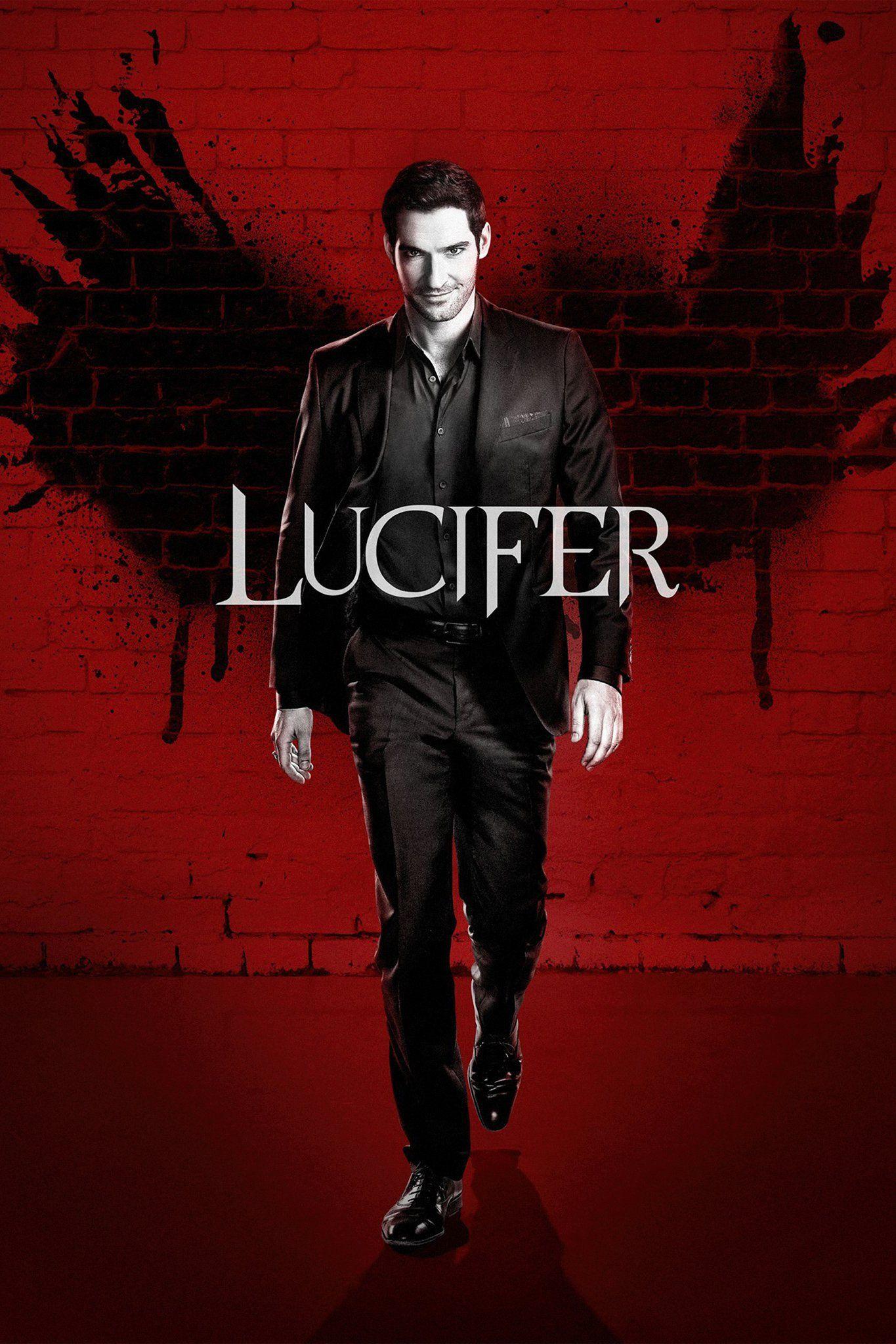 Lucifer S2 Promotional Poster Series Y Peliculas Mejores Series