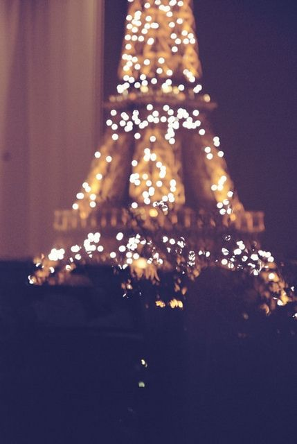 Eiffel tower at night, #LoveIsHoliday