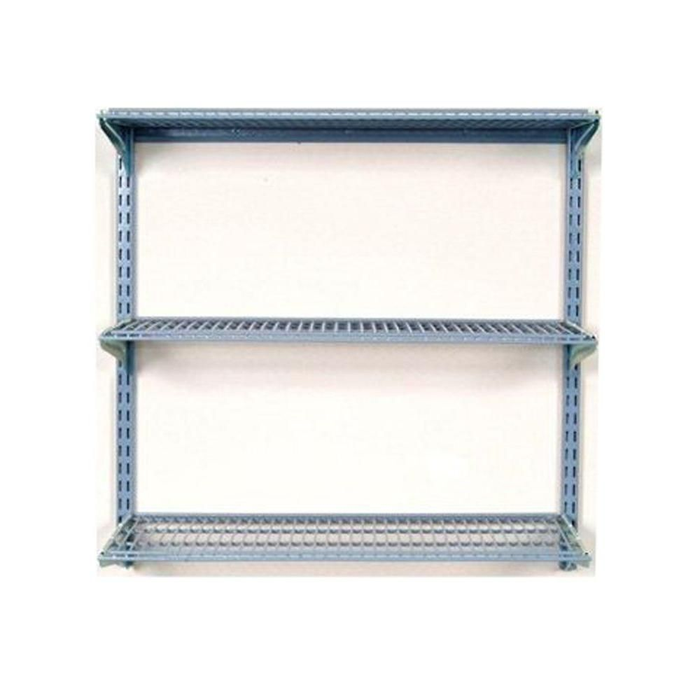 Wall Mount Wire Shelving | Wire Shelving | Pinterest | Wall mounted ...