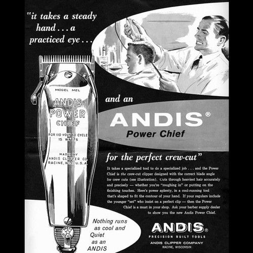 Advertisement For Andis Clippers Barber Clippers Barber Shop