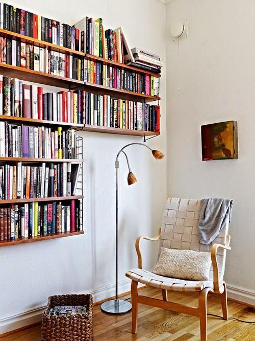 EL JARDIN DE LOS MUFFINS Blog de Decoración, Vintage y Tendencias - rincon de lectura