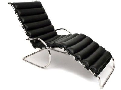 Ludwig Mies Van Der Rohe MR Chaise Lounge Replica