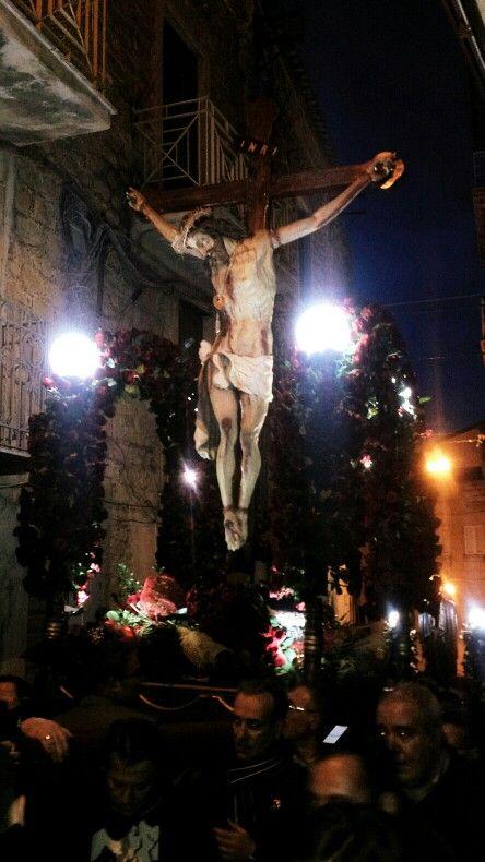 Settimana Santa, Butera, Sicilia, Italia