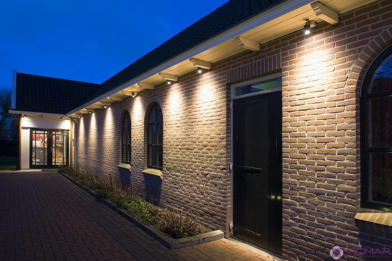 Stunning Gevel Verlichting Ideas - Moderne huis 2018 - borderdarshan.com