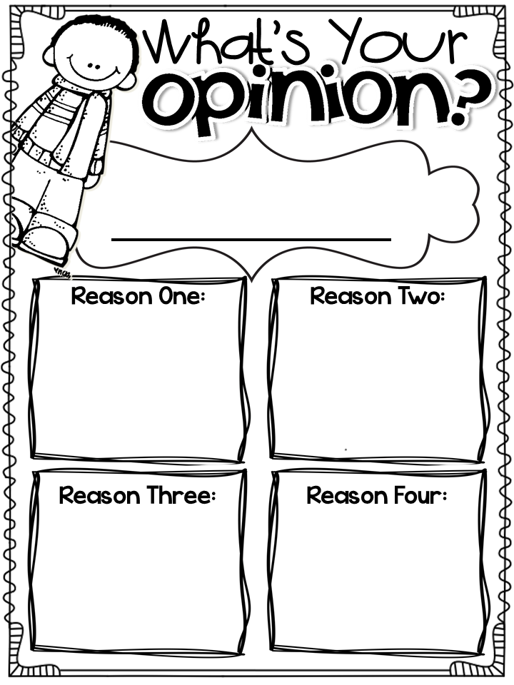 Winter Writing Prompts And Pages Opinion Writing Graphic Organizer Opinion Writing First Grade Writing