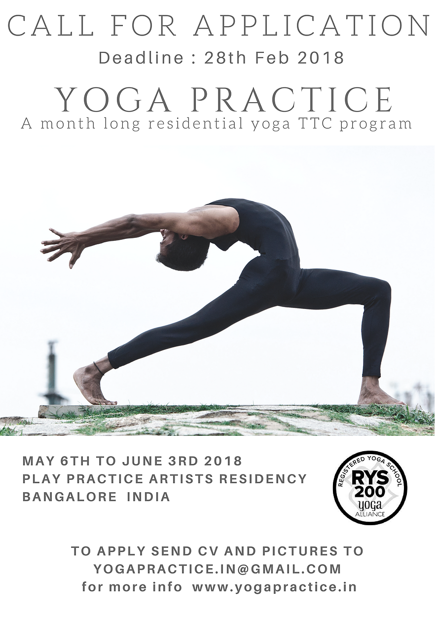 Yoga Practice Hatha Teacher Training Certification
