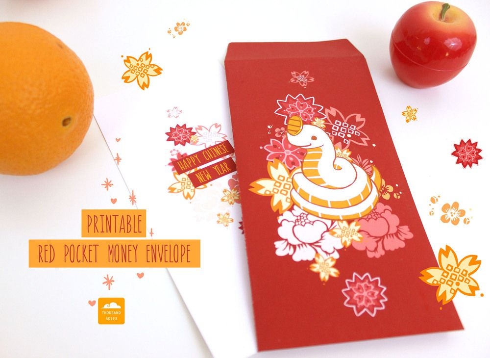 happy chinese new year thousand skies printable red envelopes