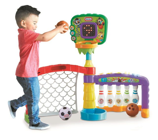Little Tikes 3-In-1 Sports Zone | Early learning toys ...
