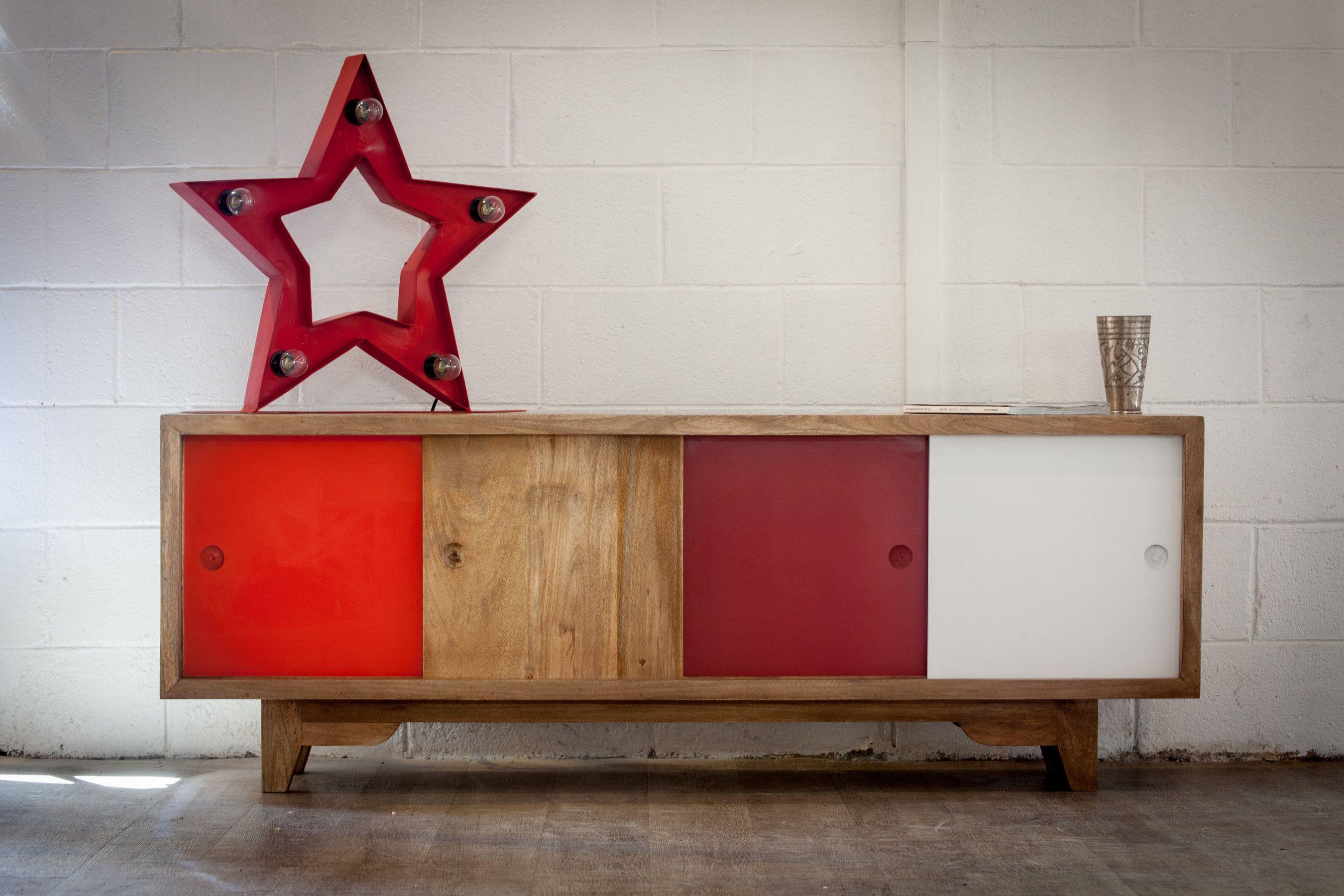enfilade scandinave joli meuble au design ann es 50 apportez une touche vintage votre. Black Bedroom Furniture Sets. Home Design Ideas