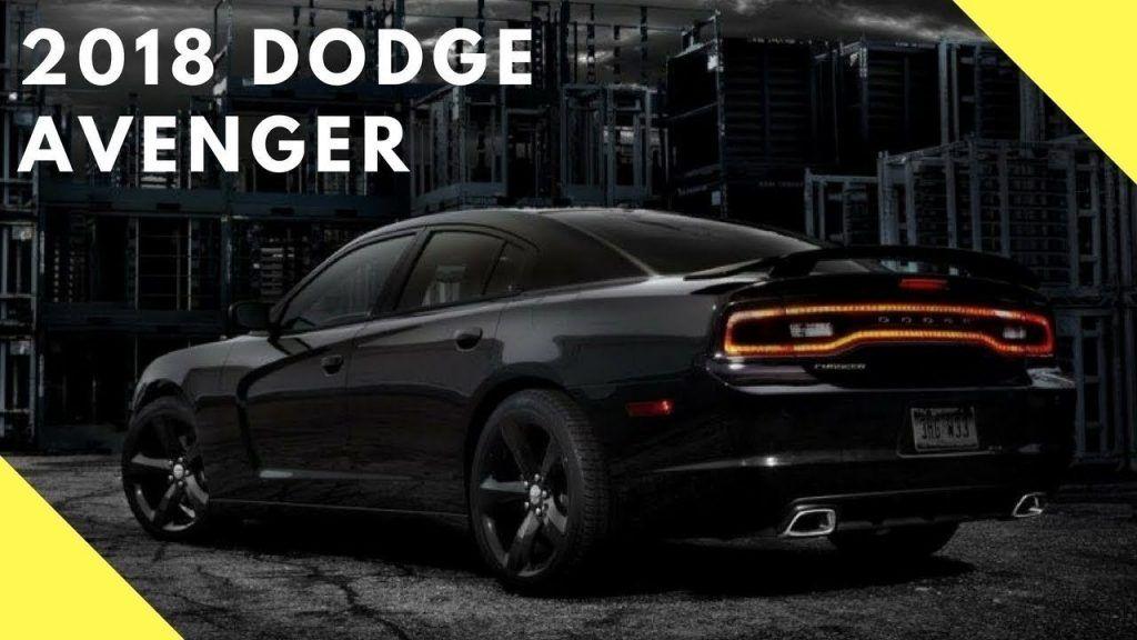 New 2019 Dodge Avenger Srt Spesification | Release Car 2019