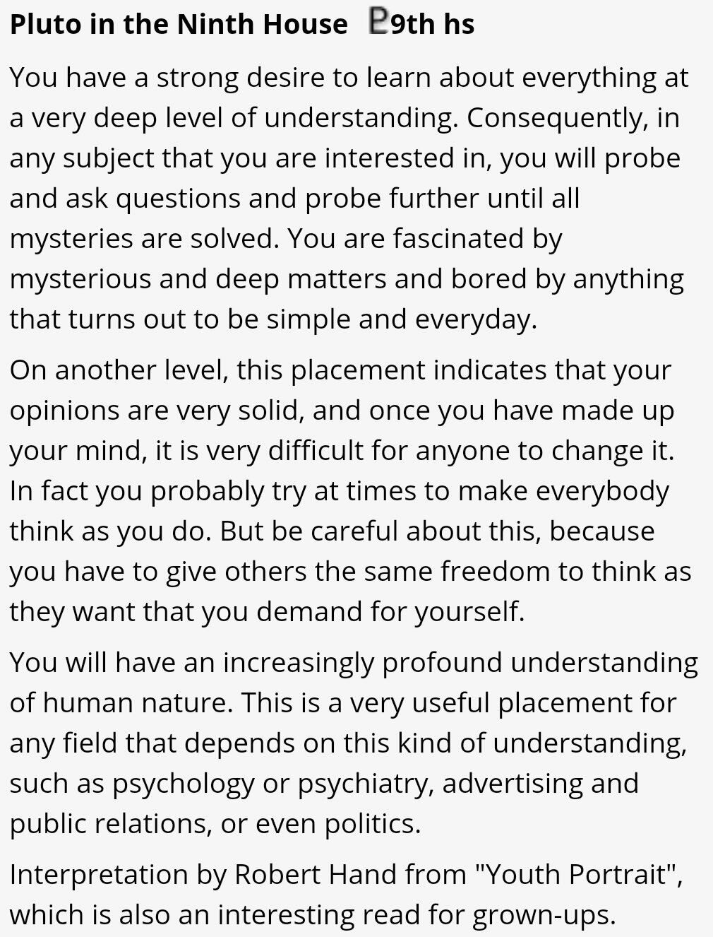 Pluto In The 9th House Capricorn Quotes My Astrology Levels Of Understanding