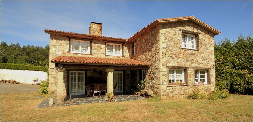 Construcciones r sticas gallegas casas r sticas de - Fachadas de casas rusticas fotos ...
