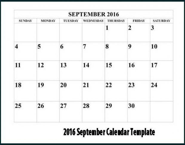 Excel  Monday Through Sunday Calendar Template  Craft