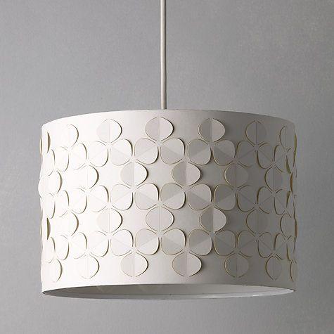 John Lewis Partners Clara Cutwork Drum Shade Sulphur Ceiling Lamp Shades Drum Shade Lamp Shade