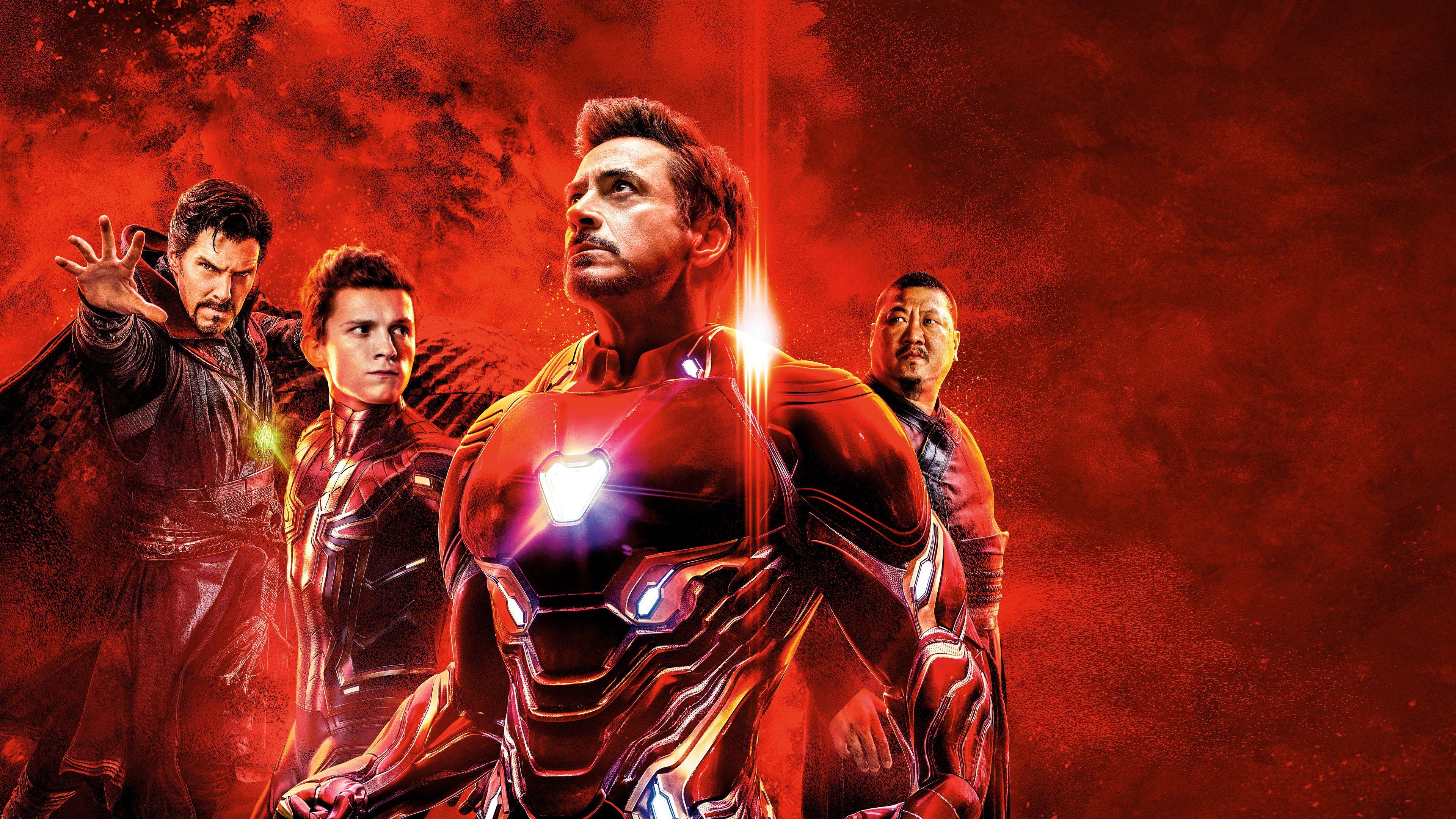 Avengers Infinity War Reality Stone Poster 4k spiderman