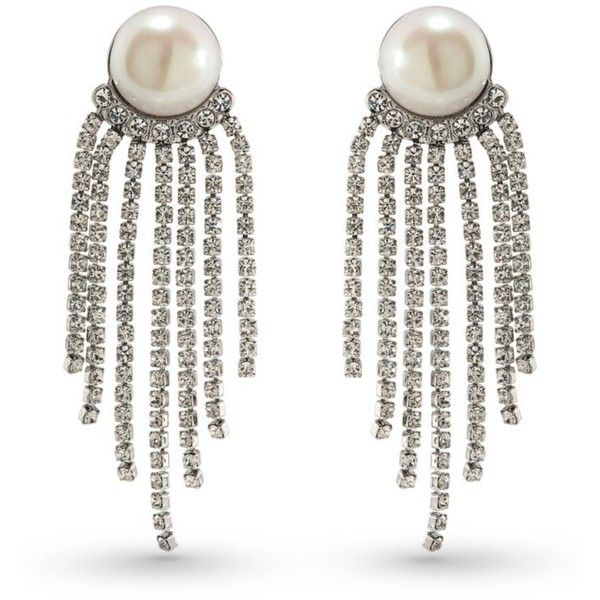 Carolee Silverpearl Silver Tone Grand Entrance Pearl Tel Statement 55