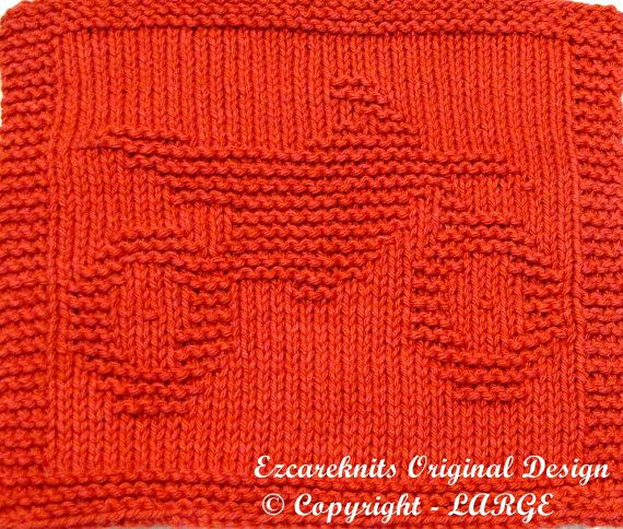 Knitting Cloth Pattern DIRT BIKE PDF by ezcareknits on Etsy