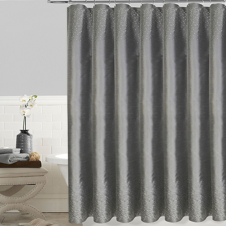Twilight 72 X 72 Shower Curtain In Grey 96 Inch Shower Curtain