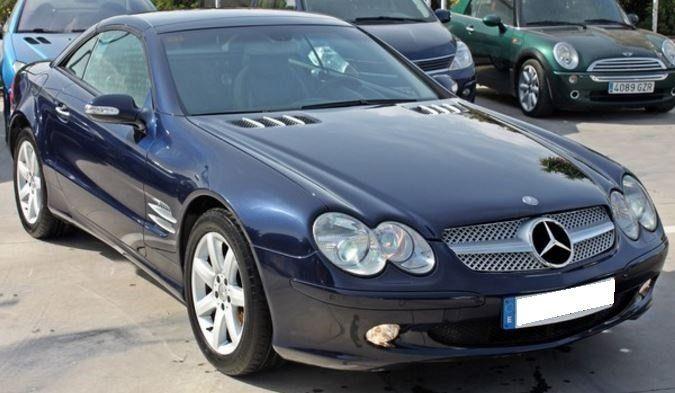 2003 Mercedes Benz SL350 cabriolet automatic convertible