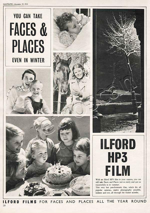 1953 Ilford HP3 Film  #analoguephotography #ilfordfilm #shootfilm #vintagefilm #35mm #mediumformat