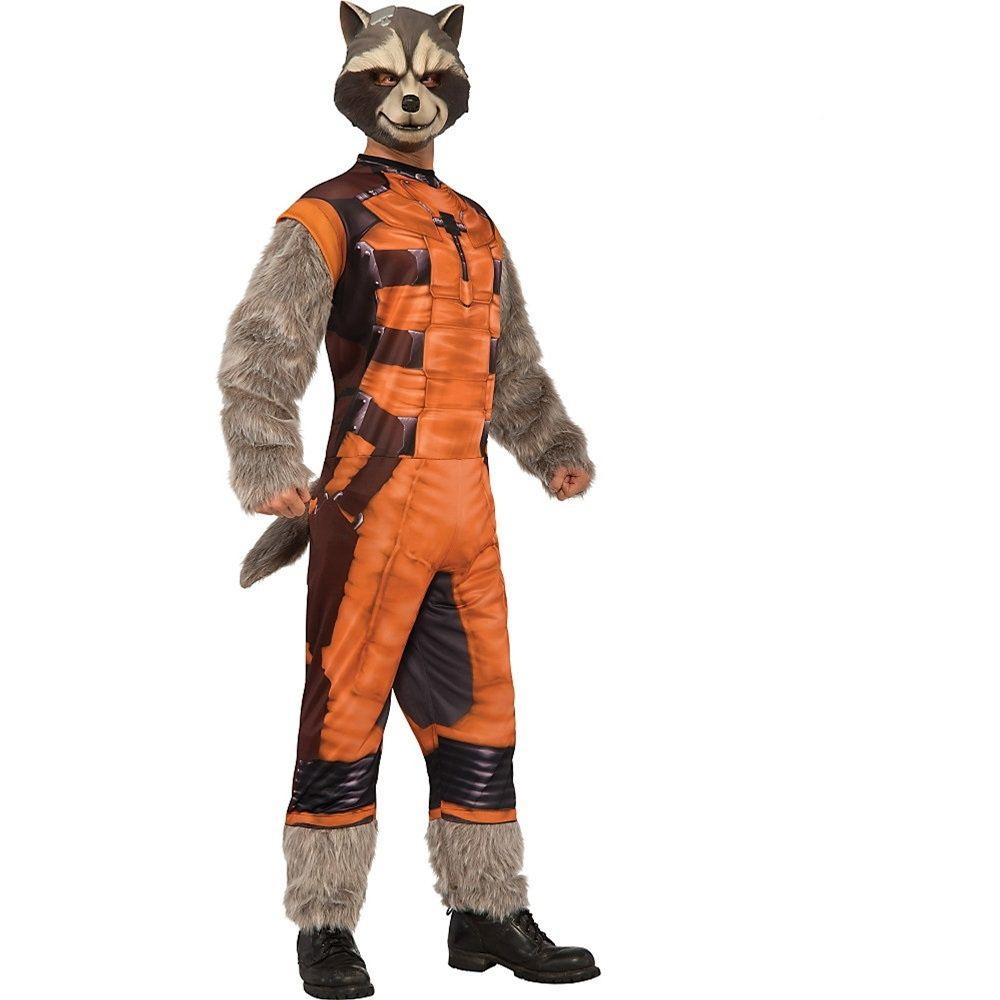 Avengers Infinity War Rocket Raccoon Adult Costume Top