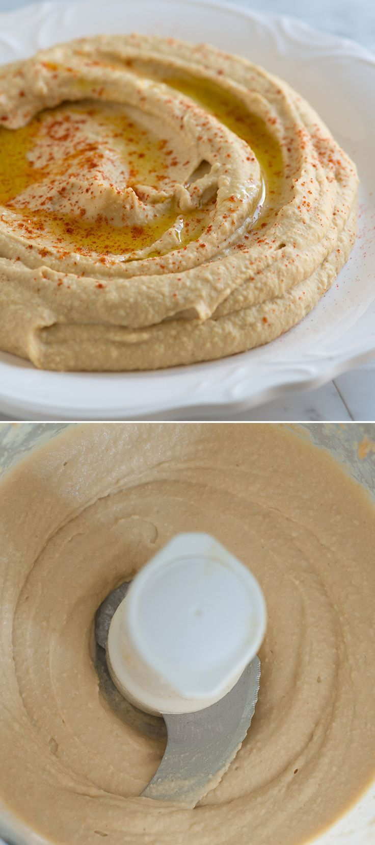Easy Hummus Recipe – Better Than Store-bought | Recipe in 2019 | cooking 101 | Hummus recipe ...