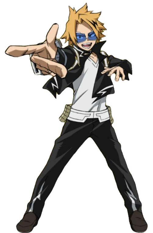 Denki Kaminari My Hero Academia Hero Costumes Hero