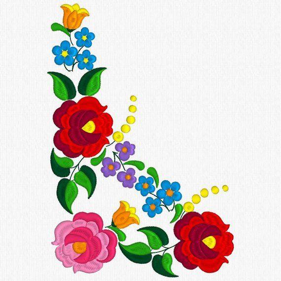 Hermoso diseño de Kalocsa / patrón de bordado para la venta. NO se ...