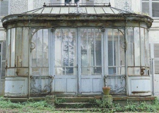 antique green house secret garden pinterest serre verri re et tropical. Black Bedroom Furniture Sets. Home Design Ideas