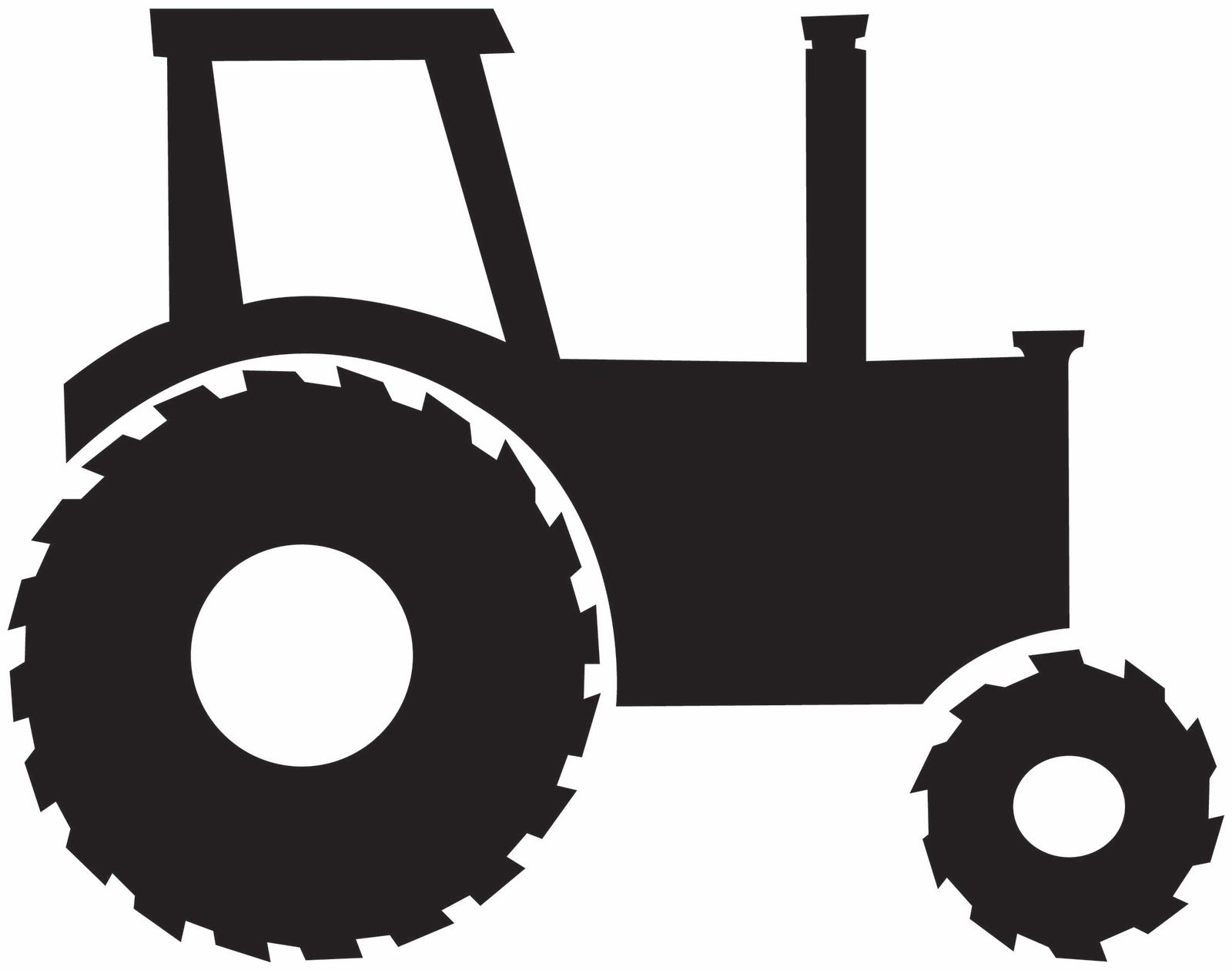 tractor and farm background clipart image 13508 silhouette rh pinterest com tire clip art free tires clip arts svg