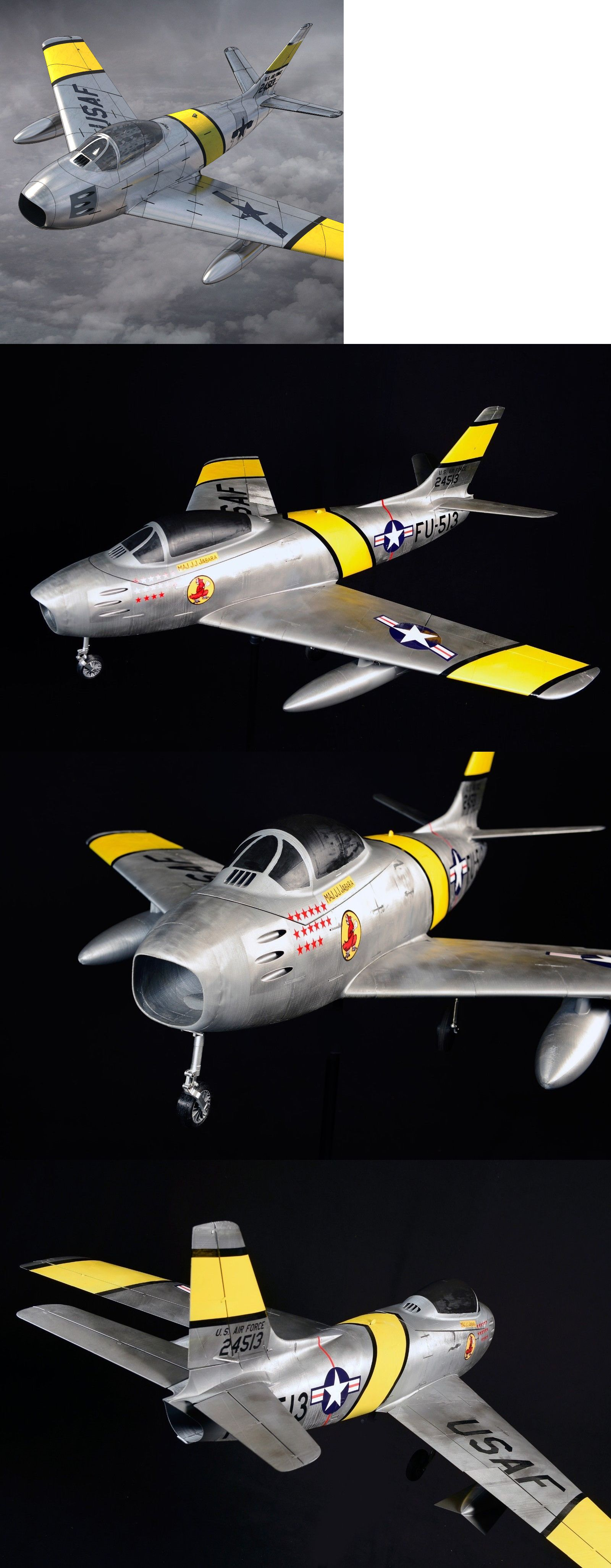 Airplanes 182182: F-86 Sabre 55 3D Printed Rc Edf Ducted Fan Plane