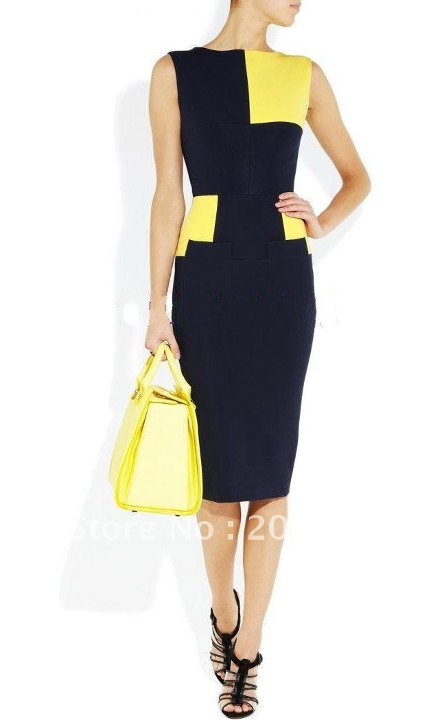 Images of Work Dresses For Women - Reikian