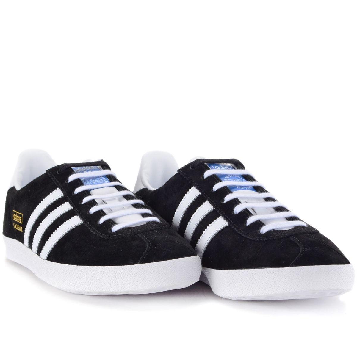 Tênis Adidas Gazelle OG Black White G13265   Calçados