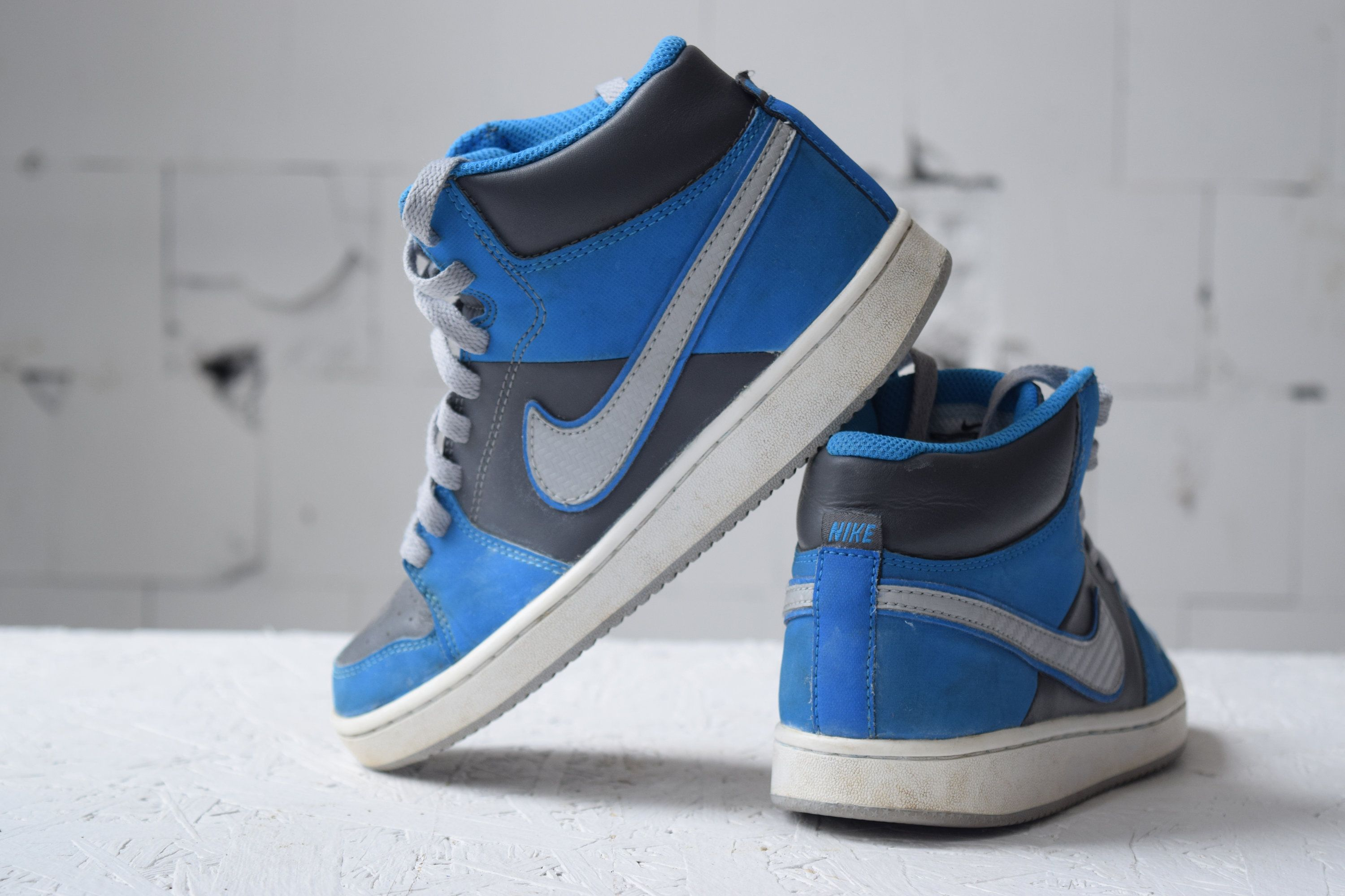 Nike Sneakers Vintage Skate Shoes High Top Trainers Etsy Hip Hop Shoes Sport Shoes Women Skate Shoes