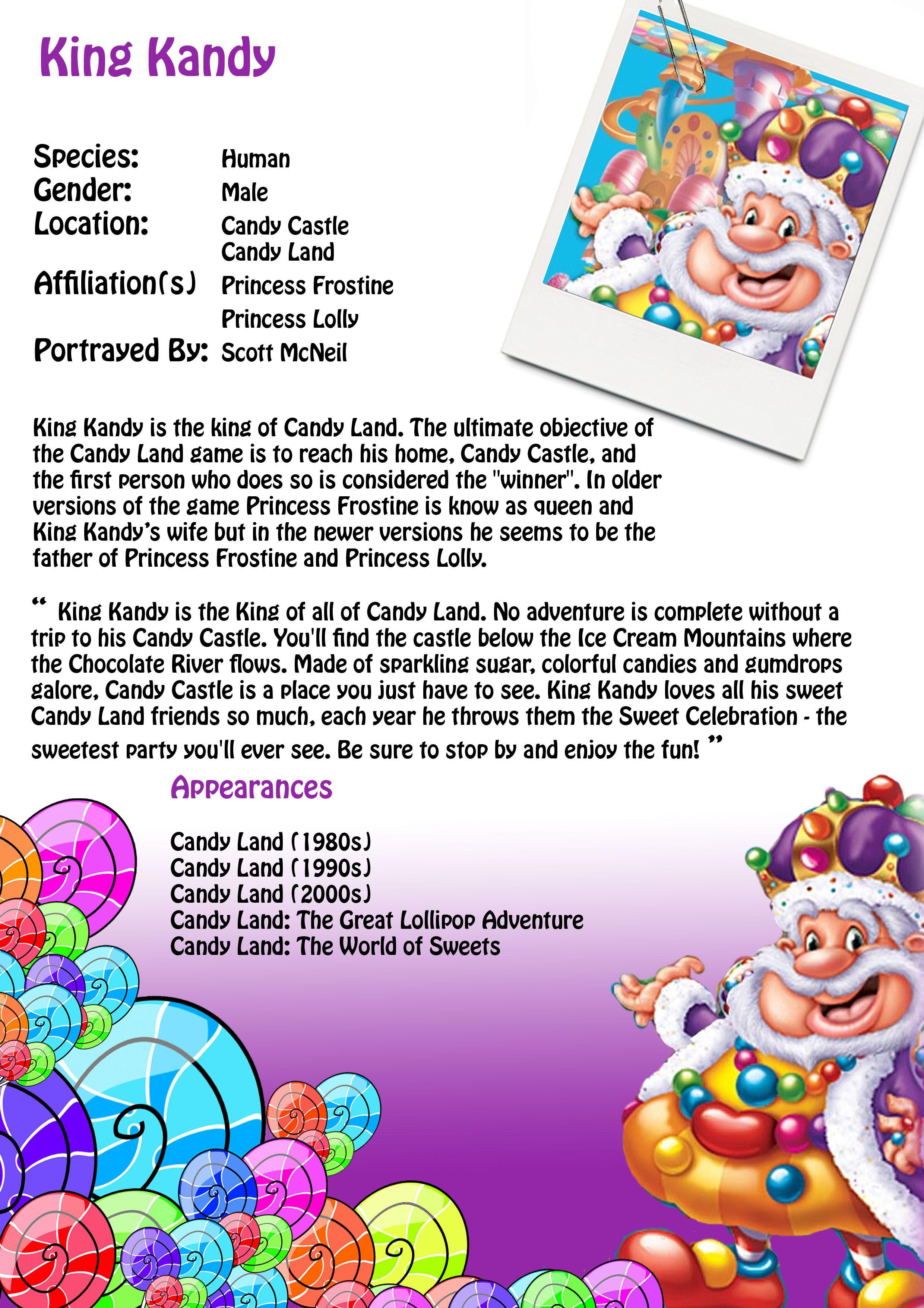 kingcandycopy.jpg 2,480×3,508 pixels Candyland, Candy