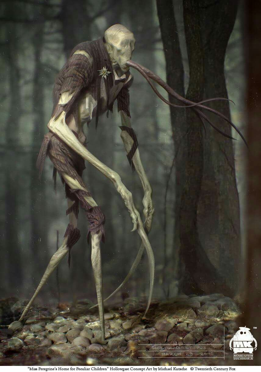 A Concept Art Of The Hollowgast Staypeculiar Ninos Peculiares