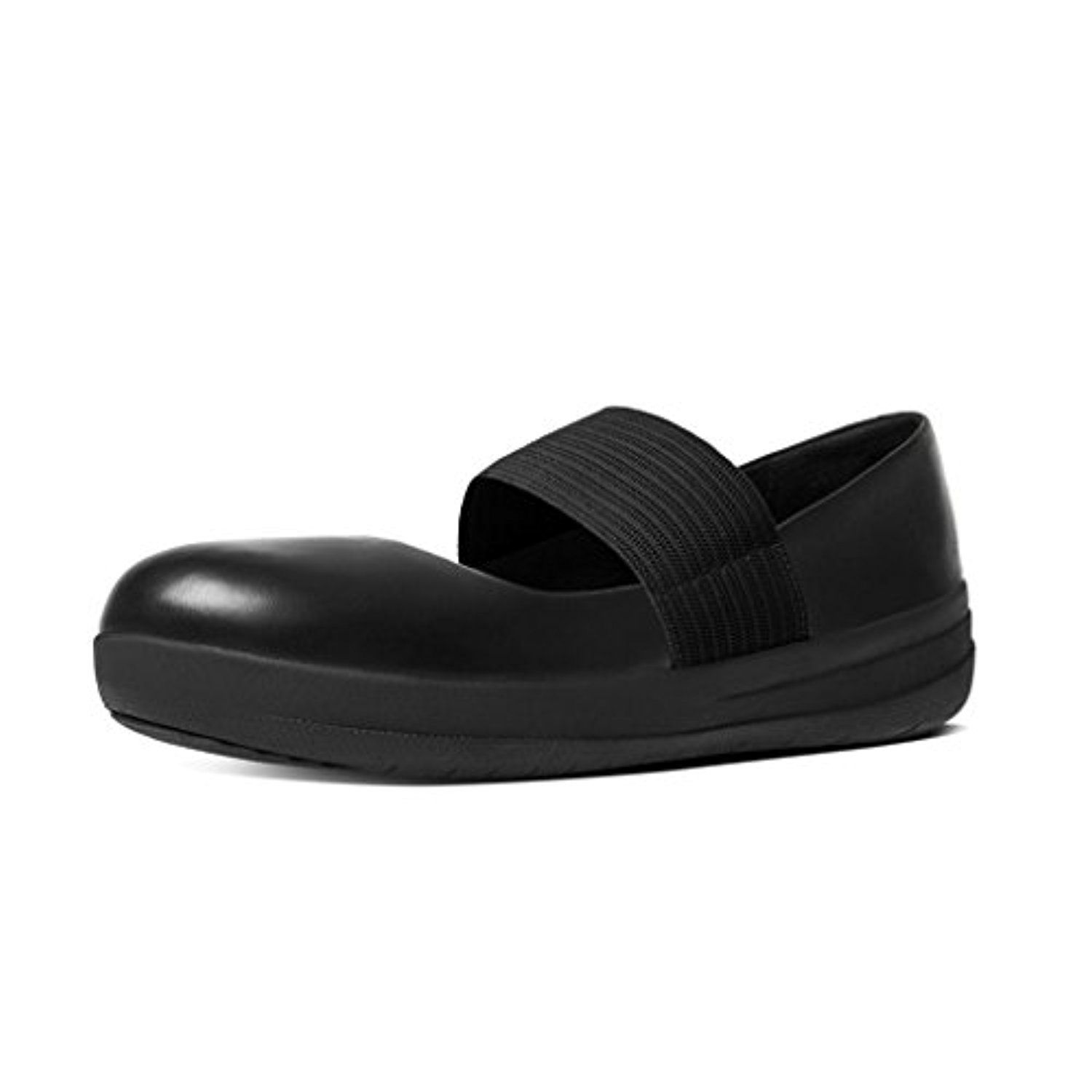 FitFlop F-Sporty Mary Jane Noir
