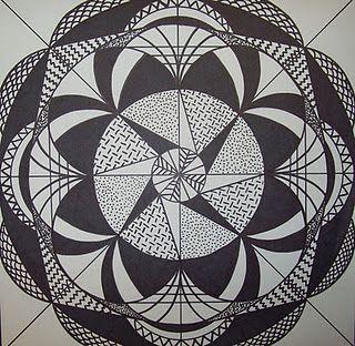 Polyhedron Solid Geometry Symmetry Handmade Mathart Regolo54 Pastel Escher Structure Circle Geometry Art Geometric Drawing Sacred Geometry Patterns