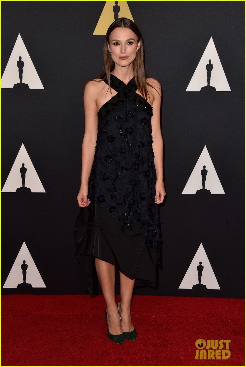 kiera knightley benedict cumberbatch governors awards 01 Keira Knightley is a beauty in a long black dress at the Academy Of Motion Picture Arts And Sciences' 2014 Governors Awards at The Ray Dolby Ballroom at Hollywood…