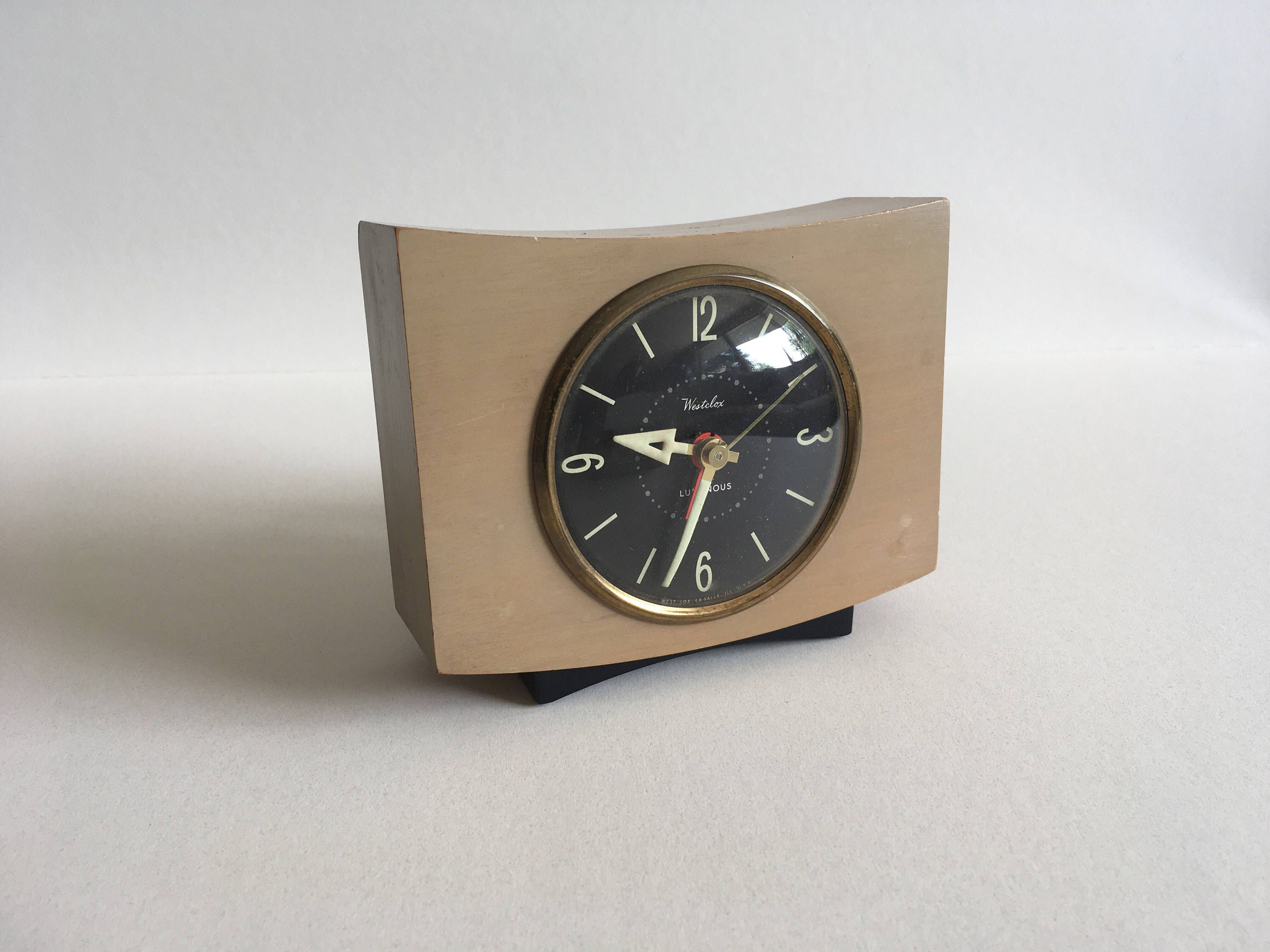 Vintage Westclox Electric Clock By Bittercressmcm On Etsy Httpswwwetsy