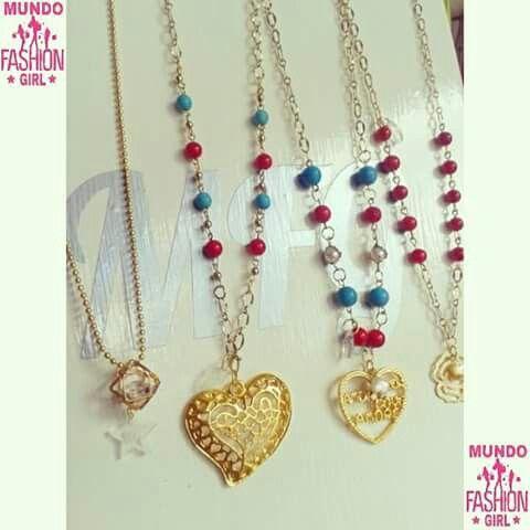 #CadenasGoldfilled Turquesas, cristales, perlas cultivadas #AccesoriosExclusivosMFG #CalidadEnAccesorios #HechosAMano #MayorYDetal