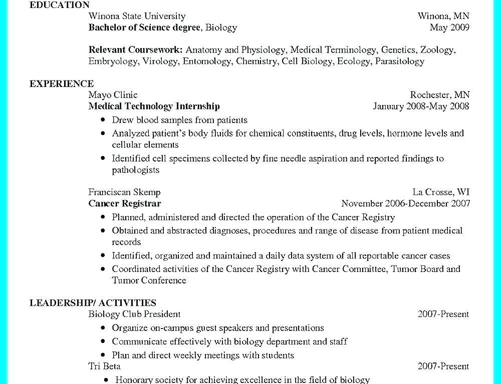 Certified Tumor Registrar Sample Resume Sample Resume For Lecturer Zoology Sample Resume For Lecturer In Engineering College Home Resume Format Resume Zoology